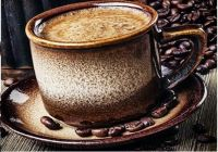 Káva různé druhy dobré kávy