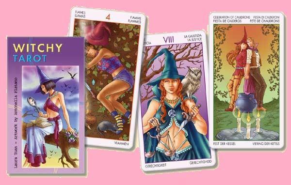 Tarotové karty - Čarodějnický Tarot