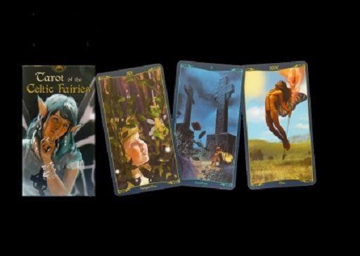 Tarotové karty - Keltských Skřítků