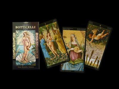 Tarotové karty - Zlatý Botticelli Tarot