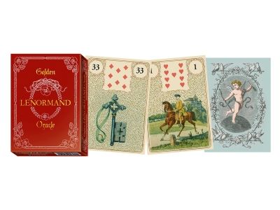 Vykládací karty - Golden Lenormand Oracle