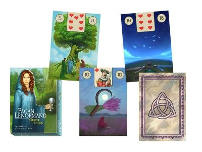 Vykládací karty - Pagan Lenormand