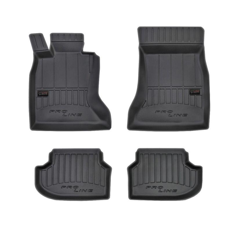 3D gumové autokoberce BMW 5 F10+11 (2010-2017)