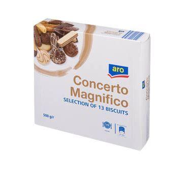 Concerto Magnifico Směs 13 druhů sušenek 1x500g