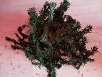 Girlanda vánoční 270 cm zelená, Akce !!!