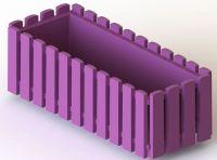 Truhlík 50 cm fialový Fency