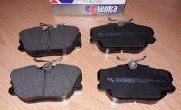 brzdová přední destička pro vozy Saab 9000