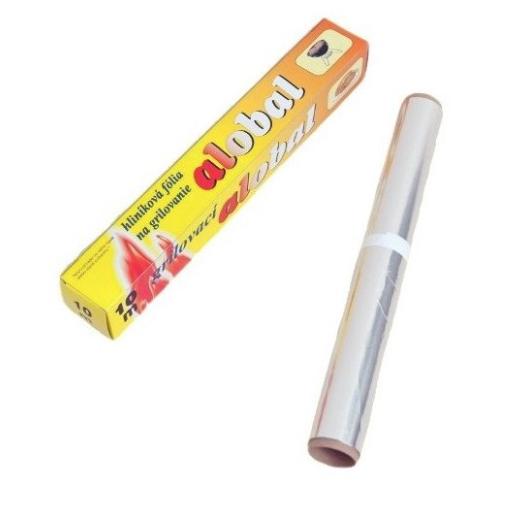 Alobal 0,29x10m, 13µm grilovací, box PREMIUM SAMA CZ