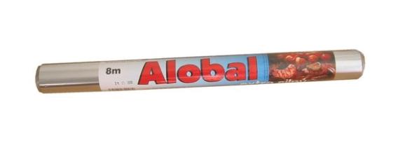 Alobal 0,38x8m, 18µm grilovací PREMIUM SAMA CZ