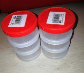 Box plast šroubovací 3-dílný