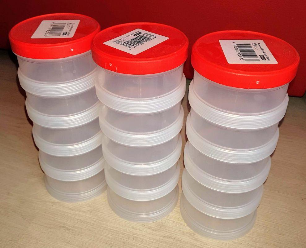 Box plast šroubovací 5-dílný