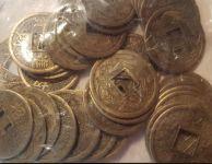Čínské mince 2,3 cm- sada 50 kusů