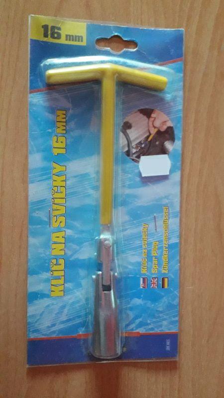 klíč na svíčky 16 mm, COMPASS