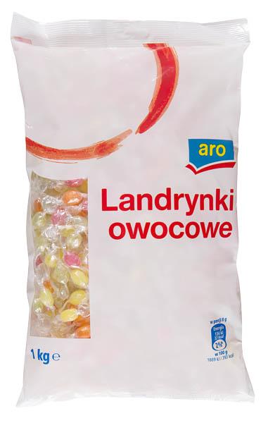 ARO Pikolo bonbony/ tvrdé karamely s ovocnými příchutěmi 1x1kg