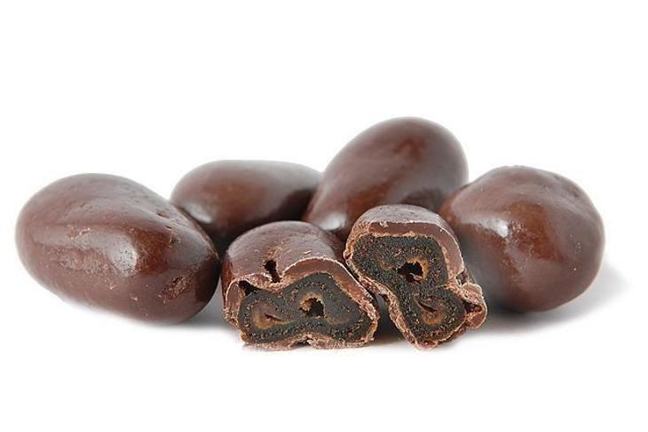 Datle v hořké čokoládě
