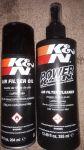 servisní sada K&N pro péči o vzduchové bavlněné filtry