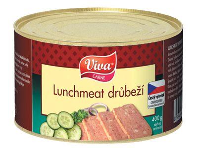 Viva Lunchmeat drůbeží 400g