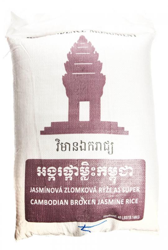 Rýže jasmínová zlomková A1 super 1x18,14kg